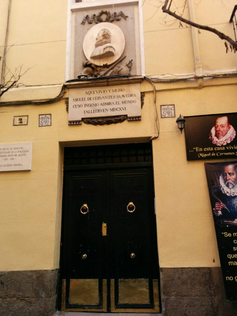 house of Miguel de Cervantes madrid