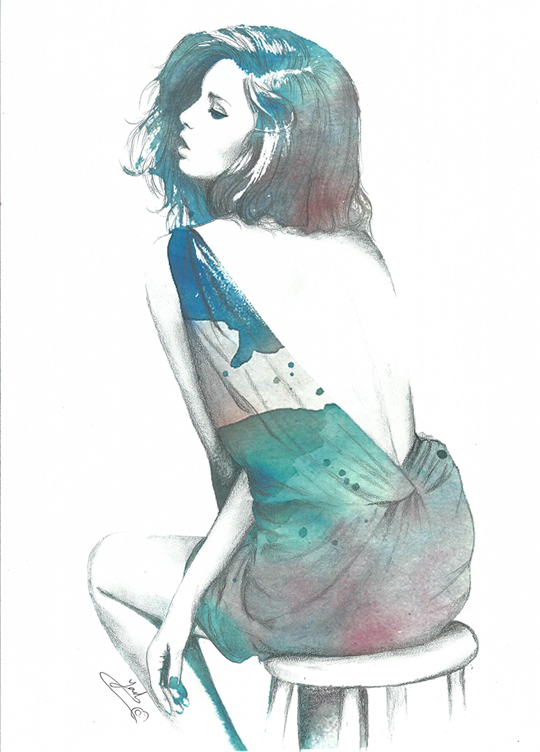 Girls Illustration Fashion S Painting