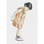fashion illustration for a shoe brand for children