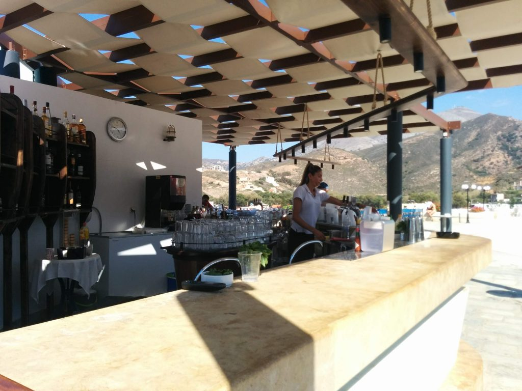 bars around the resort - crete