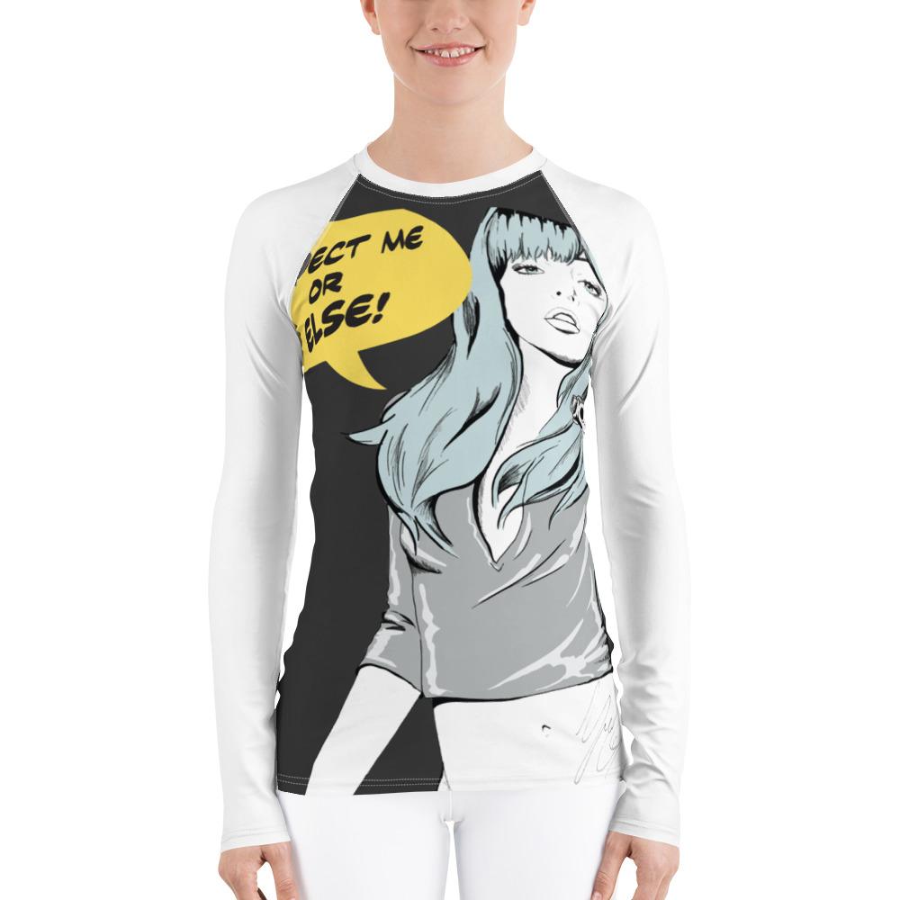 האחרון long sleeve swim and surf shirt RashGuard comics style fashion RY-66