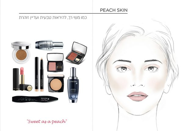 LANCOME  makeup facecharts
